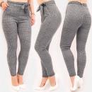 Großhandel Hosen: Elegante Damenhose, L-4XL, Kariert, 5593