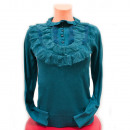 wholesale Pullover & Sweatshirts: Wool Sweater S-XL, Lace and Fluff, D14119