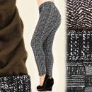Großhandel Hosen: 4137 Winter Damen Leggings, Hose, Übergröße