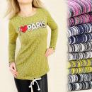 Großhandel Fashion & Accessoires: BI156 Trapeze TUNIKA, blous, Liebe Paris, ...