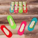 Großhandel Strümpfe & Socken: 4559 Bambus Ballerina Füße, Damen Socken 36-41