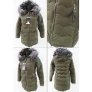 wholesale Coats & Jackets: E11 Winter Jacket, Aztec Quilting, Khaki