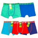 Großhandel Fashion & Accessoires: Bambus-Boxershorts für Jungen, Koory 4-12, 6005