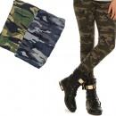 wholesale Fashion & Apparel: Leggings For Girls, 134-164, Moro, 5701