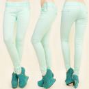B16491 FASHION Hosen Jeans, glamourös MINT TASTEN