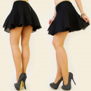 wholesale Skirts: BB62 LOVELY MINI  SKIRT, mesh, GOLD SLIDER, MIX