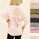 Großhandel Fashion & Accessoires: A846 Abnehmen Frauen Pullover, Tunika, Openwork zu