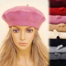 wholesale Headgear: C17406 Classic Women Beret, Wool