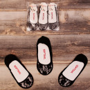 wholesale Fashion & Apparel: 4552 Lace Women Feets, Black, Ballerina 38-41