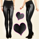 wholesale Fashion & Apparel: 4009 SEXY, BLACK LEGGINS, LATEX AND KNITTLE