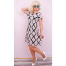 Großhandel Kleider: BI752 Stretch-Kleid, Pastellfarben