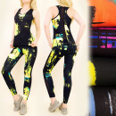C17157 Fitness Set Top + Leggings, Sport Set