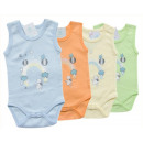 wholesale Childrens & Baby Clothing: D196 Pastel Body Without Sleeve