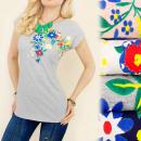ingrosso Ingrosso Abbigliamento & Accessori: K414 COTONE  BLOUSE, TOP, FIORI VARIOPINTI