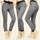 grossiste Sports & Loisirs: BI203 PANTALONS CONFORTABLES, ROBES, MELANGE, GOLD