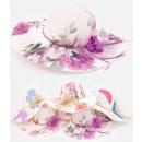 wholesale Headgear: C1922 Romantic, Summer, Beach Hat, Flowers