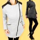 3653, capa CHIC, chaqueta con hombreras