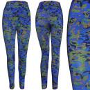 4465 Women Leggins, Colored Moro Pattern