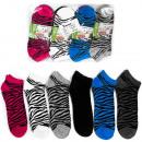 H104 Women Socks, Bamboo Fiber, Zebra Patter