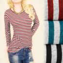Großhandel Hemden & Blusen: C11409 Hübsche Bluse, Tunika, Glamouröse Sterne