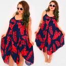 Großhandel Kleider: C17715 Frauenkleid, V-Ausschnitt, ...