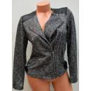 Giacca elegante  B179, giacca Ramones, con inserti