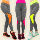 3918 Leggings,  NADRÁG, FITNESS, GYM trendek MIX