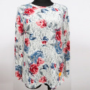 wholesale Shirts & Blouses: Blouse, Large Sizes, Pattern, L-4XL, K2761