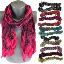 groothandel Kleding & Fashion: Halsdoek, sjaal, mooie kleuren en patroon, B10A102