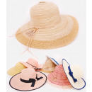wholesale Headgear: B10A73 Summer Hats With Wide Brim, Patterns