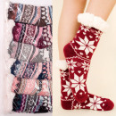 wholesale Stockings & Socks: Women's Thick Socks with Fur, ABS, 4931