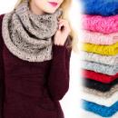 ingrosso Ingrosso Abbigliamento & Accessori: A1227 Camino, sciarpa lavorata a maglia, decorativ