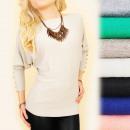 Großhandel Pullover & Sweatshirts: Damen Kaschmirpullover S-XL, Goldene ...