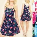 Großhandel Kinder- und Babybekleidung: C17129 Licht,  Girly Kleid,  Eindrucksvoller ...