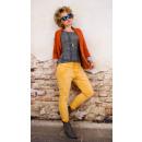 B16700 flojo,  WomenJeans, cierre doble, soleado