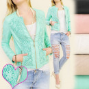 wholesale Coats & Jackets: BB99 JACKET, Candy  STYLE, EKO LEATHER, LACE