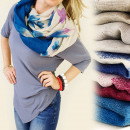 wholesale Scarves & Shawls: FL249 COLOUR  CHIMNEY, EXPRESSIVE MODEL