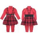 ingrosso Ingrosso Abbigliamento & Accessori: Set per ragazze, 3 pezzi, 2-8 anni, A19275