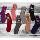 wholesale Stockings & Socks: SOF14 Women's Socks, Angora, Snowflakes, 35-42