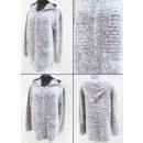 K54 hosszú kardigán kabáttal, pulóverrel és melang