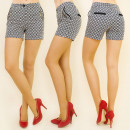 Großhandel Shorts: BI425 ELEGANT  HOSE, SHORTS RETRO MODELL