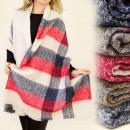 Großhandel Fashion & Accessoires: FL284 BIG,  geschmackvoll SHAWL, schöne Farben