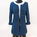 Großhandel Pullover & Sweatshirts: Lange Strickjacke, Damenpullover (UNI) A8115