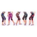 4280 Fitness Women Leggins, Bamboo Fiber, Mesh