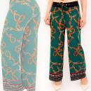 Großhandel Hosen: A876 Damen Hosen Hosen, Arabian Style, Malachit