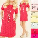 Großhandel Kleider: BI464 Schönes Kleid, Tunika, Glamour Gesicht