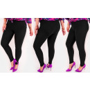 4295 Leggings Plus Size, Bamboo, Slim, Calssic