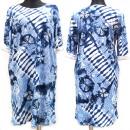 Großhandel Kleider: Kleid Frauen, gemustert, große Größen, 56-58, 5610