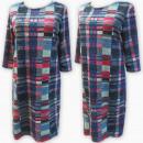 Großhandel Kleider: D4034 Kleid, Made in Poland, Plus Size 44-52
