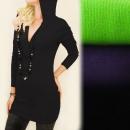 C17227 Hermosa túnica, suéter, capucha original